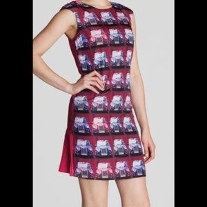 Ted Baker dress. Size 0. Immaculate!
